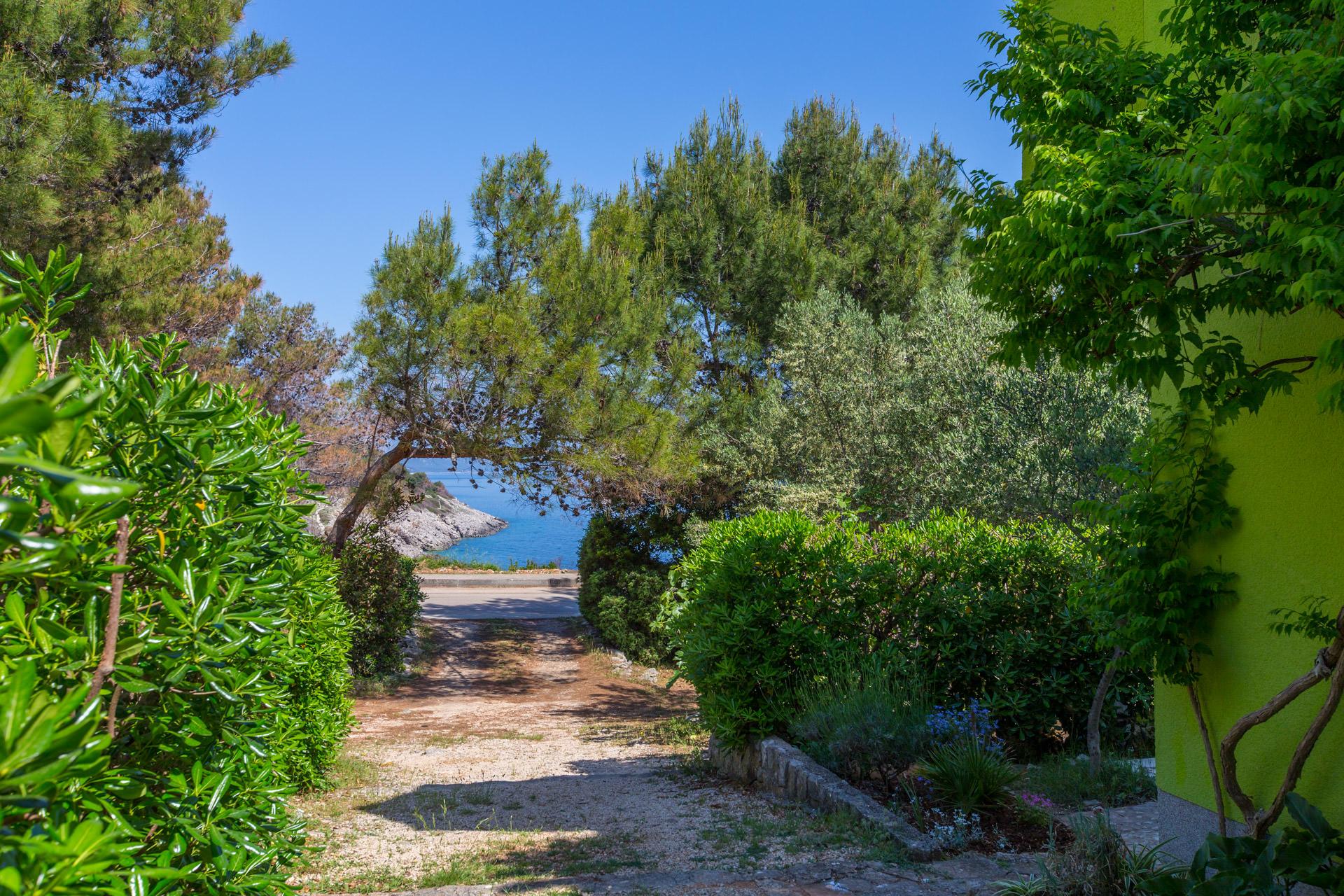 Lussino case vacanza vista mare, Mali Losinj appartamenti vacanze, Lussino affitti estivi