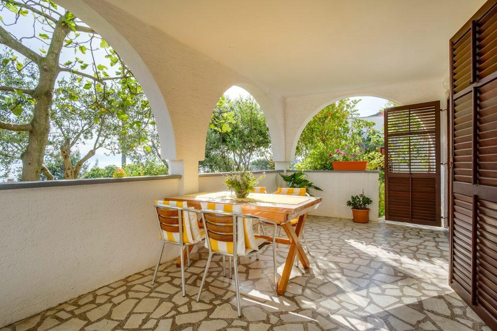 Lussino appartamento vacanze con veranda spaziosa per 5 persone