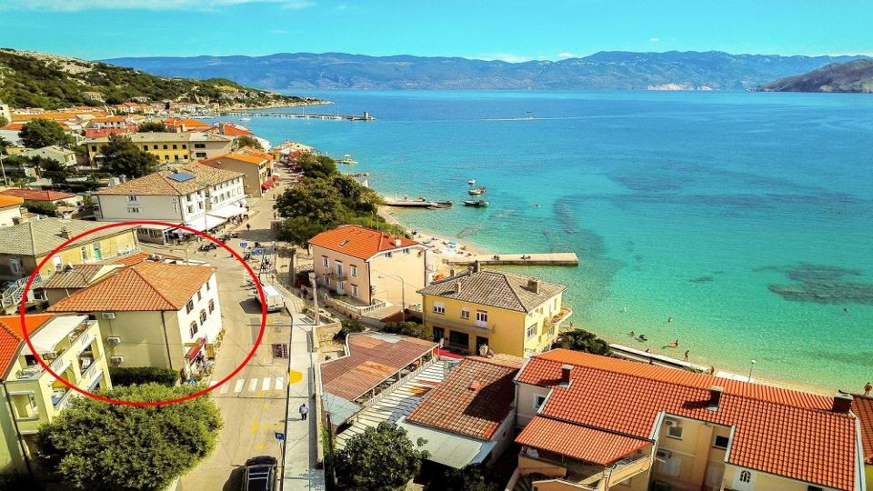 Baska case vacanza, Baska affitti estivi, Baska appartamenti vacanze